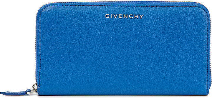 Givenchy GIVENCHY Pandora leather zip-around wallet