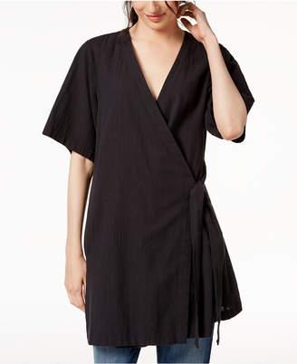 Eileen Fisher Organic Linen Kimono Jacket