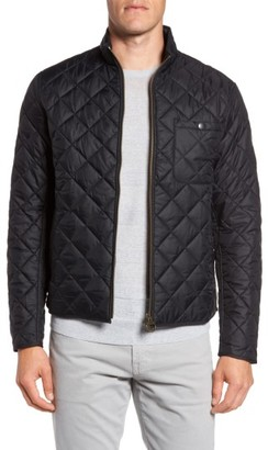Men's Barbour Pod Slim Fit Water Resistant Quilted Jacket $199 thestylecure.com