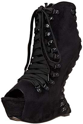 Bettie Page Women's BP646 Trina Boot