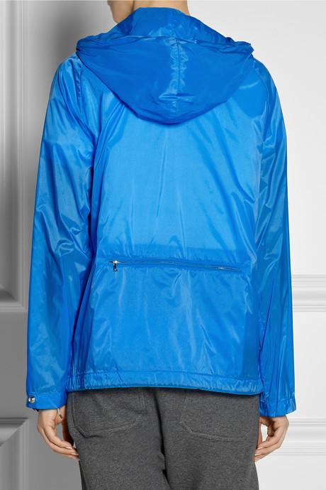 Marni Hooded technical coated shell jacket