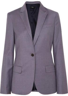 Theory Staple Wool Blazer - Blue