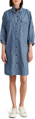 Alex Mill Military Chambray Shirtdress
