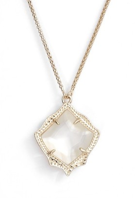 Women's Kendra Scott Kacey Pendant Necklace $75 thestylecure.com