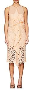 Proenza Schouler WOMEN'S LACE & CHIFFON COCKTAIL DRESS