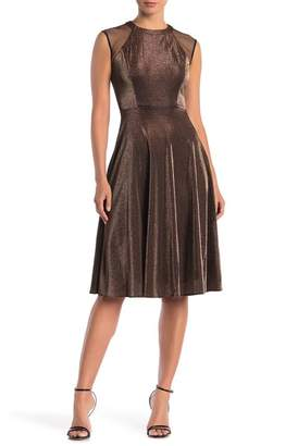 ECI Sleeveless Fit & Flare Dress