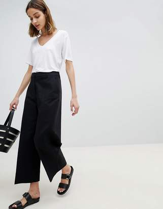Selected Wide Leg Cropped PANTS