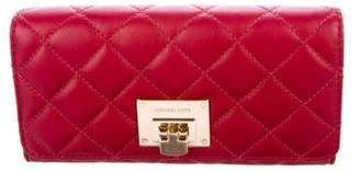 MICHAEL Michael Kors Quilted Flap Wallet