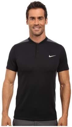 Nike Momentum Fly Sphere Blocked Polo Men's Short Sleeve Pullover