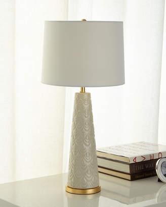 Regina-Andrew Design Regina Andrew Design Scalloped Ceramic Lamp