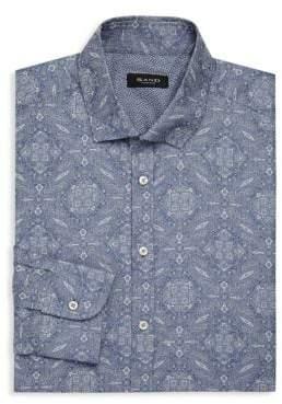 Sand Paisley Print Dress Shirt
