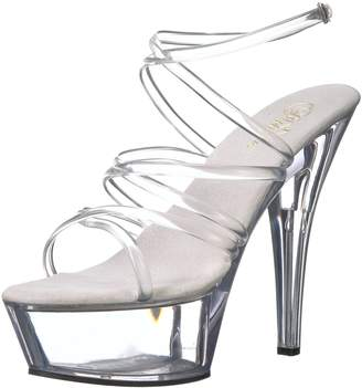 Pleaser USA Kiss-206 6 Inch Spike Heel Platform Sandal Size 7