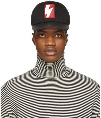 Neil Barrett Black and Red Pop Art Cap