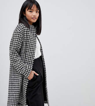 Asos DESIGN Petite oversized mono boucle Coat