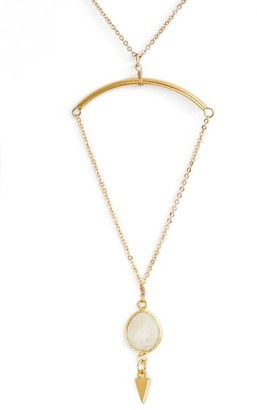 Women's Vanessa Mooney Gianna Pendant Necklace $74 thestylecure.com