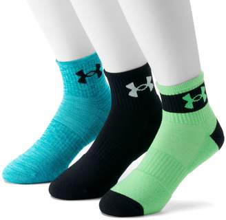 Under Armour Men's 3-pack Phenom Quarter Socks