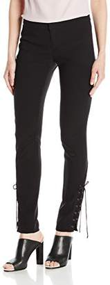 Haute Hippie Women's Skinny Suit Pant Withnew Lacing