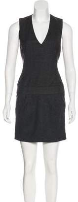 Vince Knit Wool-Blend Dress