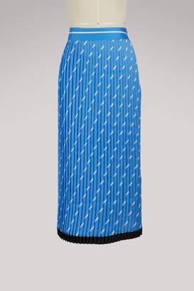 Victoria Beckham Victoria Pleated midi skirt