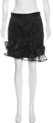 Isabel Marant Ruffled Mini Skirt w/ Tags
