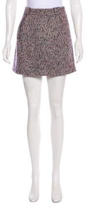 See by Chloe Wool Mini Skirt