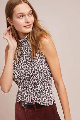 Akemi + Kin Sleeveless Leopard Top