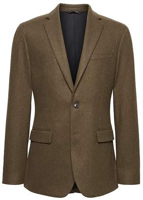 Banana Republic Heritage Slim Italian Wool Blend Blazer