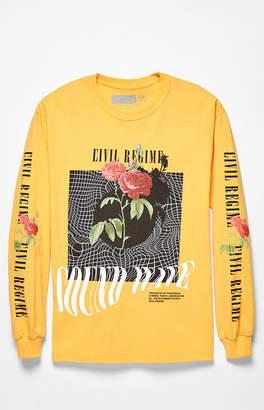 Civil Sound Waves Long Sleeve T-Shirt