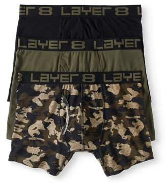 Layer 8 Mens 3 Pack Everyday Boxer Brief