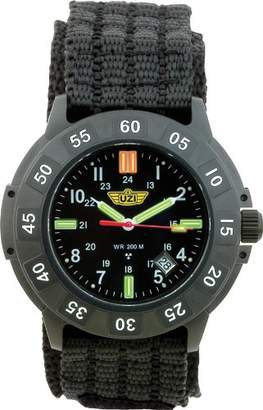 Uzi Men's Uzi-001-N The Protector Tritium H3 Nylon Strap Watch