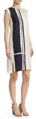 Theory Silk Shift Dress