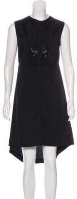 Brunello Cucinelli Sleeveless Scoop Neck Dress