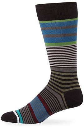 Paul Smith Men's Rak Stripe Socks