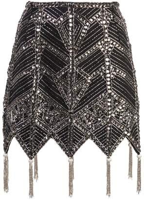 ATTICO beaded skirt