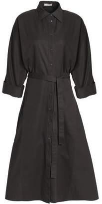 Nina Ricci Flared Cotton-Gabardine Midi Shirtdress