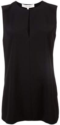 Carolina Herrera hey-hole blouse