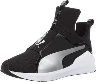 Puma Women's Fierce Core Fashion Sneakers, Black Silver