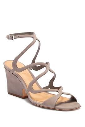 Schutz Ambra Leather Heeled Sandal