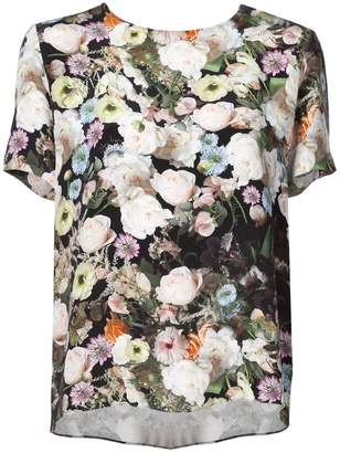 ADAM by Adam Lippes floral short-sleeve top