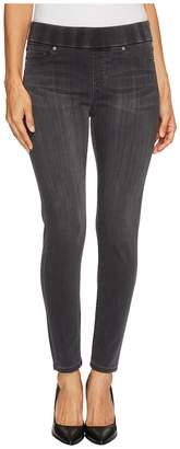 Liverpool Petite Sienna Pull-On Ankle in Silky Soft Denim in Meteorite Wash Women's Jeans