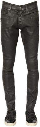 15cm Revend Coated Washed Denim Jeans $202 thestylecure.com