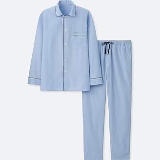 Uniqlo Men's Long-sleeve Pajamas