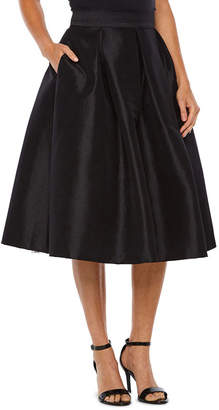 Ronni Nicole Taffeta Pleated Skirt