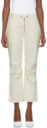 Nomia Beige Moto Trousers