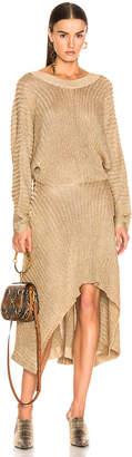 Chloé Golden Dress