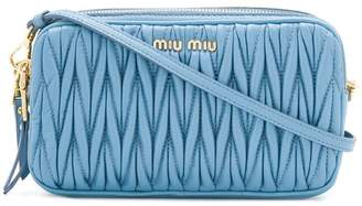 Miu Miu Matelassé cross-body bag