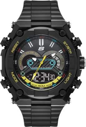 Skechers Men's Quartz Plastic Casual Watch, Color: (Model: SR1114)