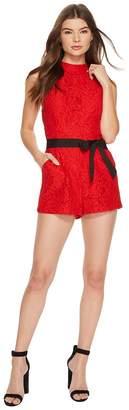 BB Dakota Neve Lace Romper Women's Jumpsuit & Rompers One Piece