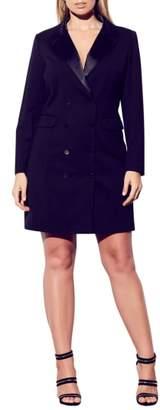 City Chic Tuxedo Dress