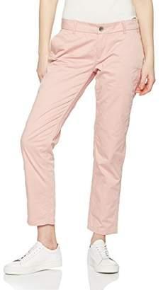 Tommy Jeans Hilfiger Denim Women's Thdw Mid Rise Basic Chino 4 Trouser,W29/L32 (Herstellergröße: 29/32)